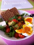Ouef mollet salad....miam1