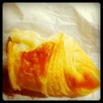 Gontran Cherrier's croissant...une oeuvre d'art