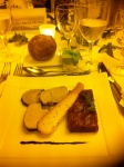 Foie gras at my bro's wedding