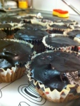 And for dessert...chocolate chocolate cupcakes