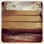 Valrhona chocolate: no i did not eat all this! (but i wanted to)