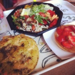 dreamy salad at 'la place'
